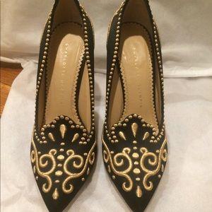 Charlotte Olympia Princess Heels Size 38